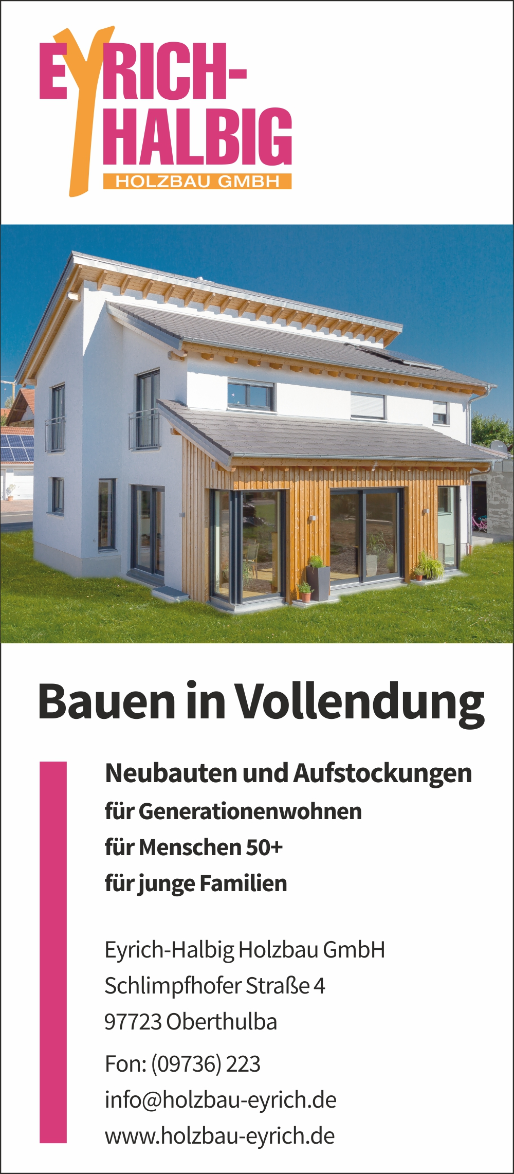 Anzeige-Immobilienmagazin